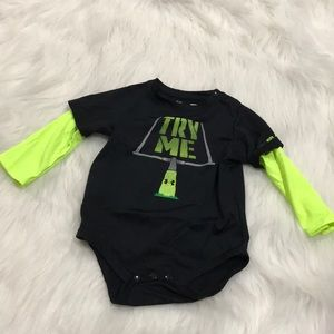 Under Armour Long-Sleeve Onesie